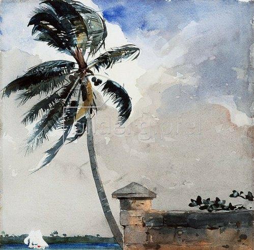 Winslow Homer: Eine tropische Brise, Nassau. 1889-90