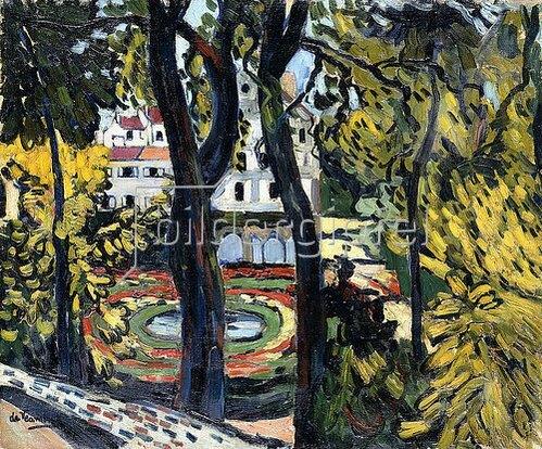 Maximilien Luce: Die Seine mit der Pont Saint-Michel. 1900