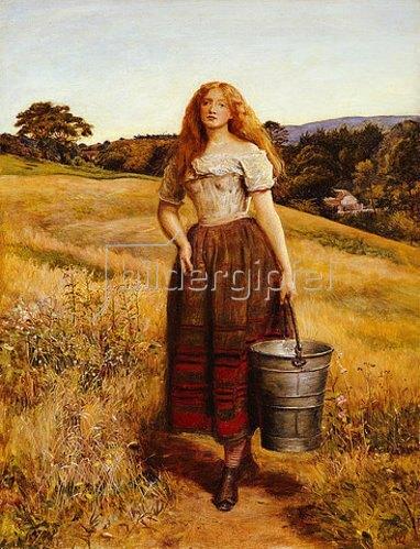 Sir John Everett Millais: Die Tochter des Bauern.
