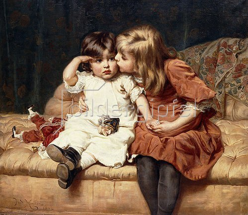 Frederick Morgan: Mach dir nichts draus! (Never Mind!) 1884