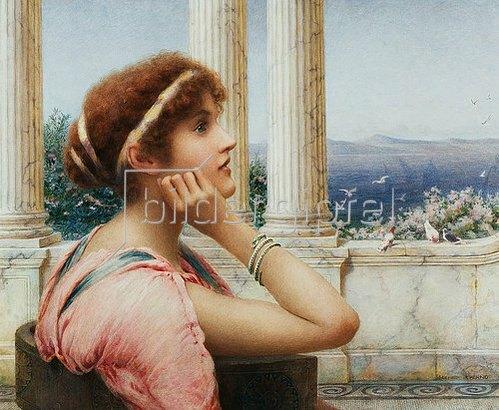 Henry Ryland: Eine klassische Schönheit.