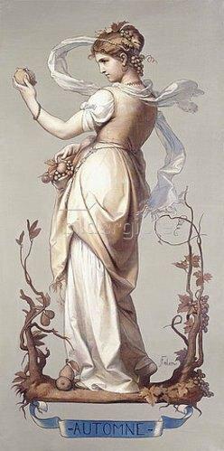 Joseph Félon: Die vier Jahrezeiten - Herbst (Les Quatres Saisons - Automne). 1873-84