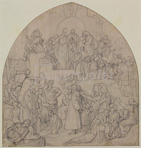 Peter Janssen: Der Handel. 1870