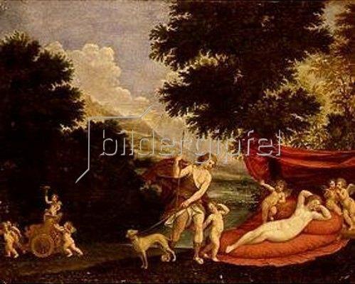 Francesco Albani: Venus und Adonis