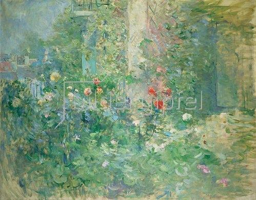 Berthe Morisot: Garten in Bougival. 1884.