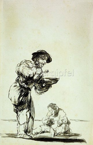 Francisco José de Goya: Enden die, die sich vor der Arbeit drücken so?