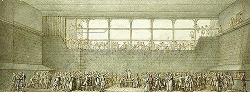 Joseph Marie Flouest: Der Ballhausschwur. Um 1789