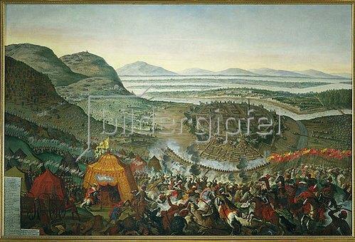 Franz Geffels: Die Entsatzschlacht. Einfall der Türken in Wien. 1689.