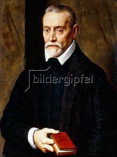 Willem Key: Porträt eines Herren mit einem Buch.