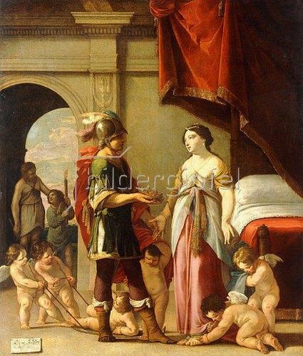 Laurent de La Hyre: Alexander der Große und Roxane. 1635