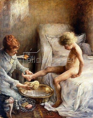 Norbert Goeneutte: Jean Guerard wird gewaschen. 1889