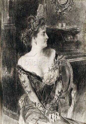 Giovanni Boldini: Porträt von Madame X. Um 1901-02