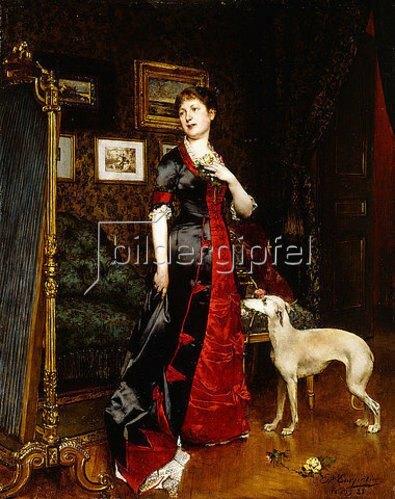 Evariste Carpentier: Das neue Kleid. 1888