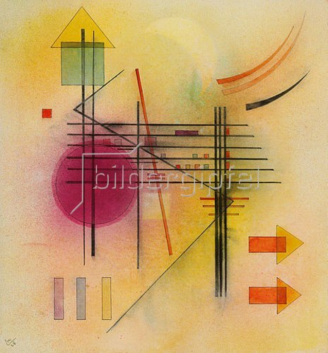 Wassily Kandinsky: Vibrierend. 1928