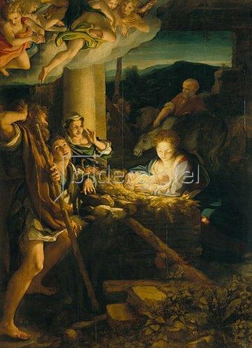 Correggio (Antonio Allegri): Die Heilige Nacht.