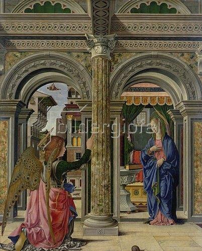 Francesco del Cossa: Die Verkündigung Mariae. Um 1470/1472.