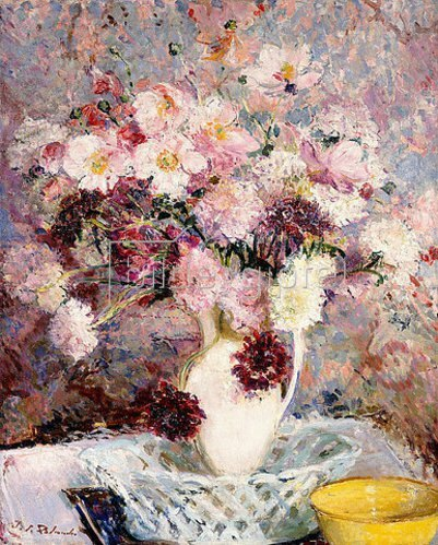 Jacques-Emile Blanche: Blumenstrauß.