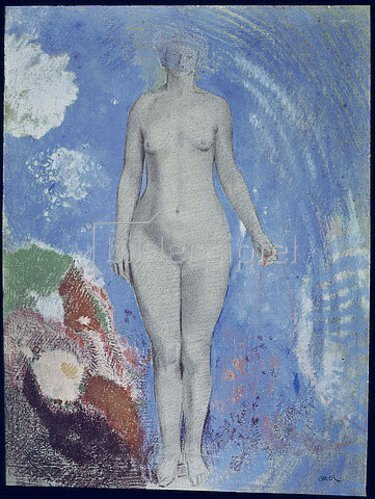 Odilon Redon: Eva.