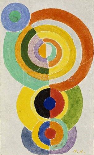 Robert Delaunay: Rhythmus I. 1934