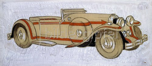 Ernst Deutsch-Dryden: Illustration eines 1924 Delage mit Karosserie von Letourneur et Marchand.