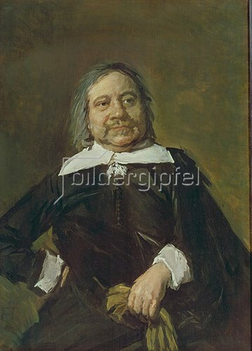 Frans Hals: Bildnis eines Mannes (Willem Croes?). Gegen 1660.