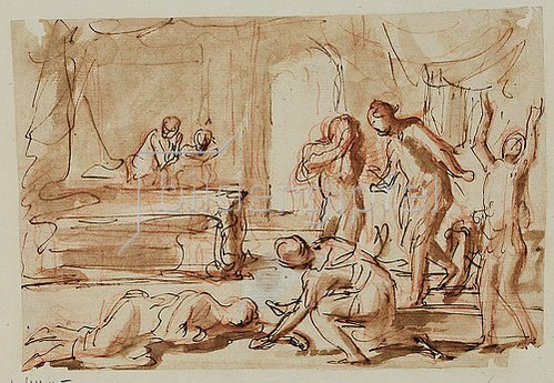 Charles Alphonse Dufresnoy: Tod der Lukretia.