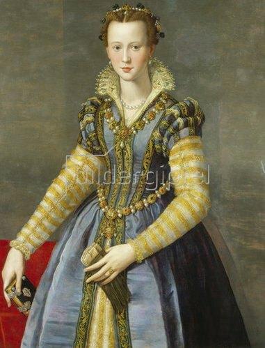 Alessandro (Bronzino) Allori: Maria de Medici (1540-1557).