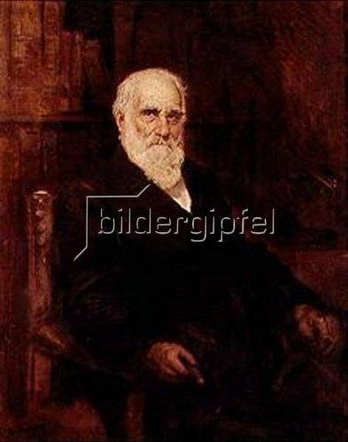 Friedrich August von Kaulbach: Bildnis Max von Pettenkofer. 1901.