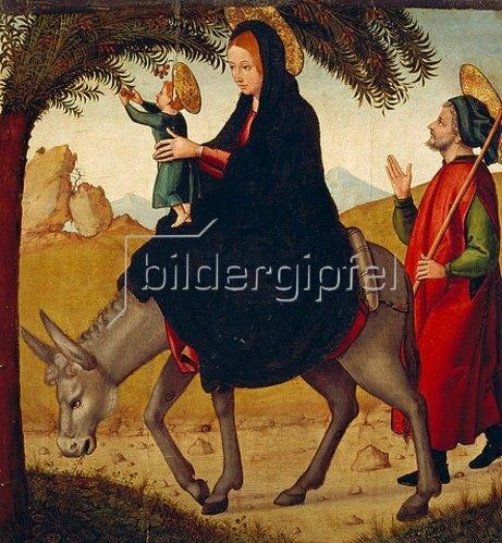 Juan de Borgona: Die Flucht nach Ägypten.