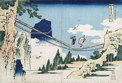 Katsushika Hokusai: Minister Toru, aus der Reihe 'Gedichte aus China und Japan, widergespiegelt im Leben'.
