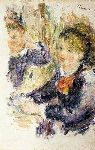 Auguste Renoir: Bei der Hutmacherin (Chez la Modiste). 1878