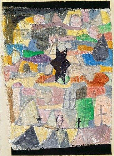 Paul Klee: Unter schwarzem Stern. 1918, 116