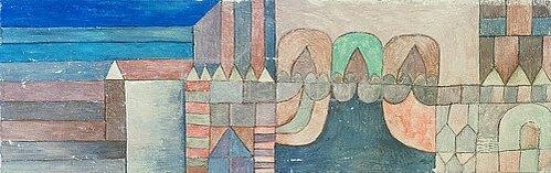 Paul Klee: Feierlicher Eingang. 1928, F. 6
