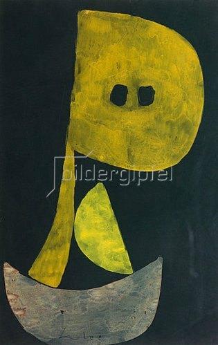 Paul Klee: Ernste Miene. 1939, 857
