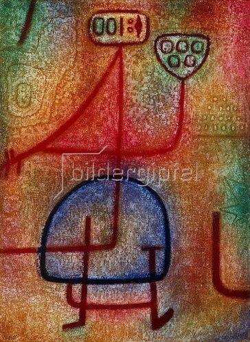 Paul Klee: La belle jardinière (Die schöne Gärtnerin). 1939, 1237