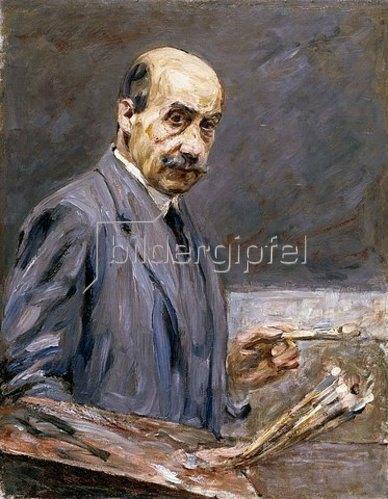 Max Liebermann: Selbstbildnis. 1911/12.