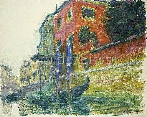 Claude Monet: Das rote Haus (La Maison Rouge). 1908.