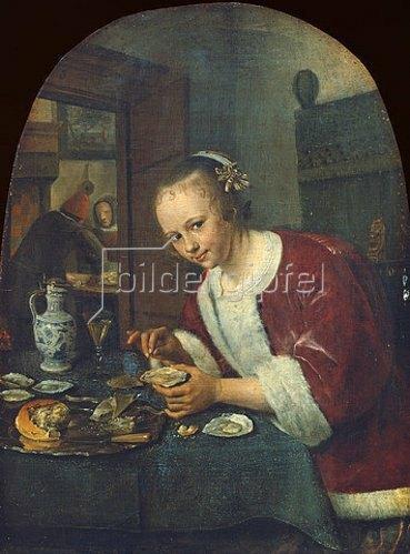 Jan Steen: Die Austernesserin. Um 1658-60
