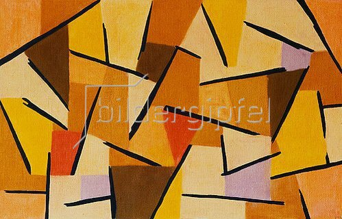 Paul Klee: Harmonisierter Kampf. 1937, 206