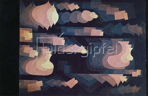 Paul Klee: Fuge in Rot. 1921, 69