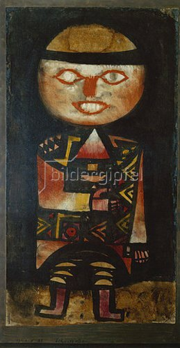 Paul Klee: Schauspieler. 1923, 27