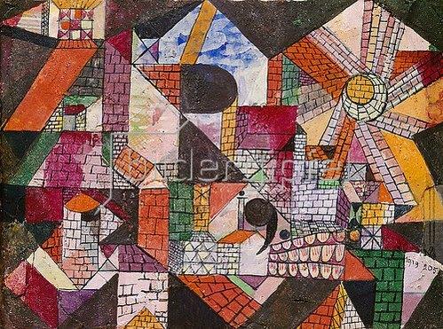 Paul Klee: Stadt R. 1919, 205