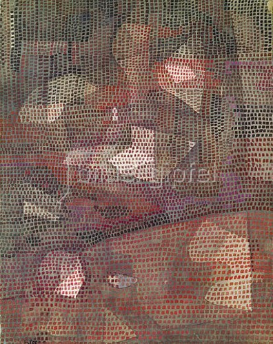 Paul Klee: Reflexe im Dunkeln. 1932, 8
