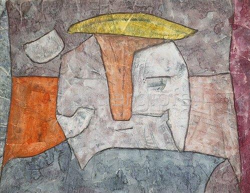 Paul Klee: St. Anton nach dem Anfall. 1935