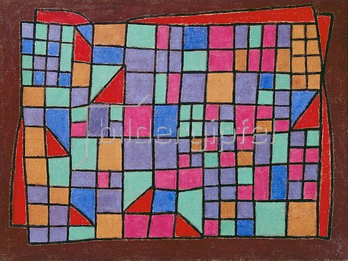 Paul Klee: Glas-Fassade. 1940, 288
