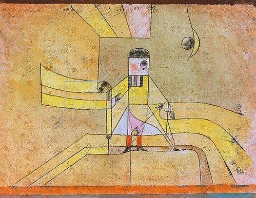 Paul Klee: Bartolo: La vendetta, Oh! la vendetta! 1921, 5