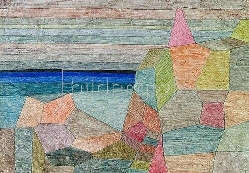 Paul Klee: Promontorio Ph. 1933