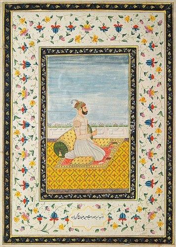 Indien: Nawab Hussayn Ali Khan. Um 1730