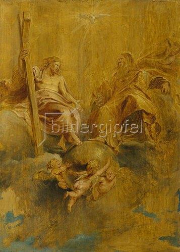 Peter Paul Rubens: Die Hl. Dreifaltigkeit. Um 1616-17