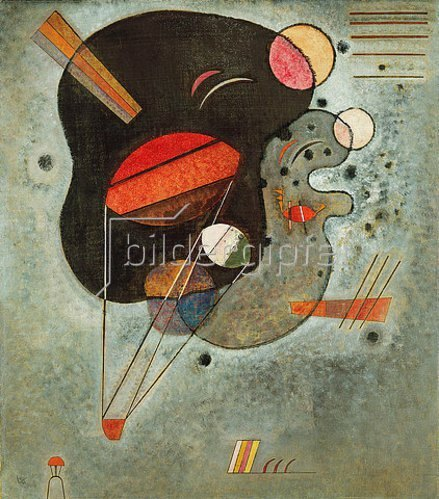 Wassily Kandinsky: Schwebender Druck. 1931